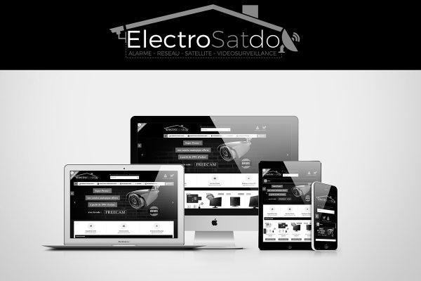 Création de site web - Electrosatdoc